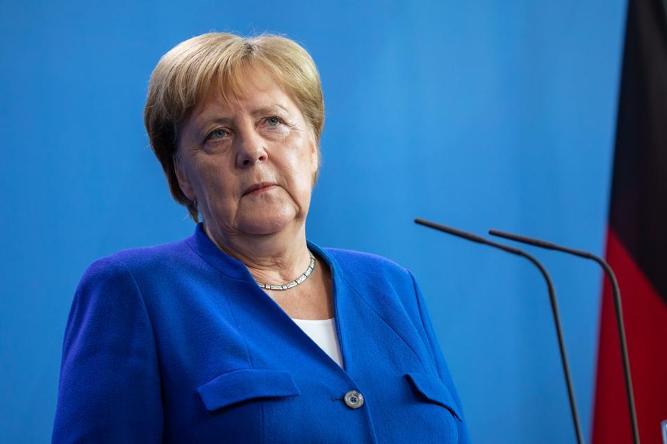 Boris Johnson Meets With Angela Merkel In Berlin