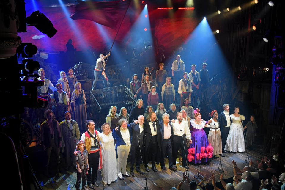 ″Les Miserables: The Staged Concert″ - Press Night - Curtain Call & Backstage