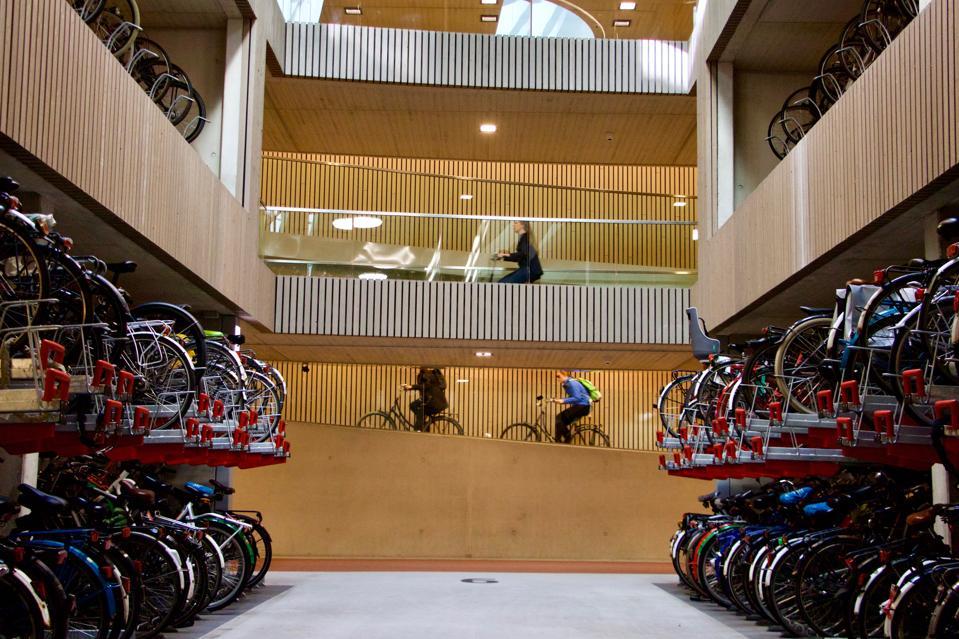 World's biggest bike parking garage opens in Utrecht