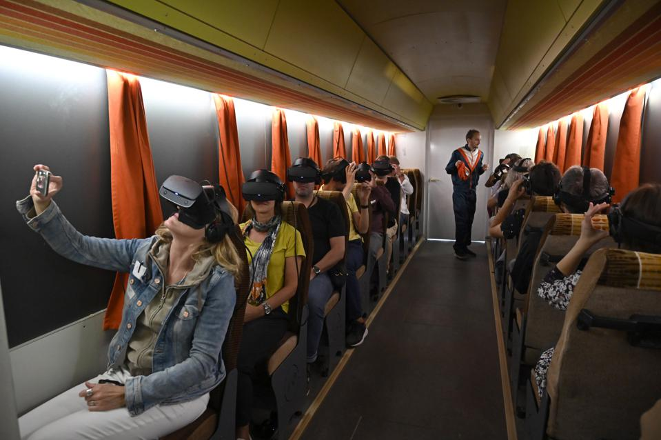 GERMANY-HISTORY-TOURISM-VIRTUAL REALITY