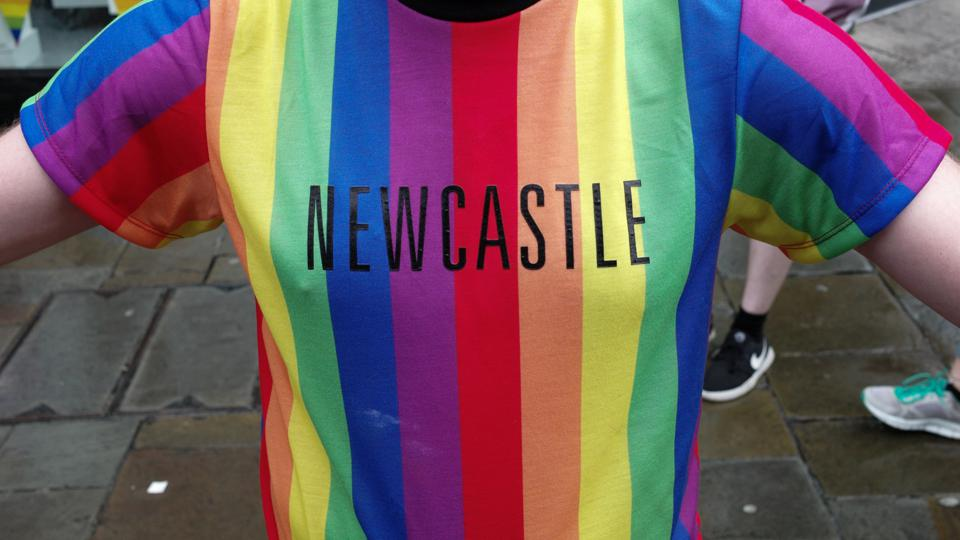 Newcastle Pride Takes To The Streets