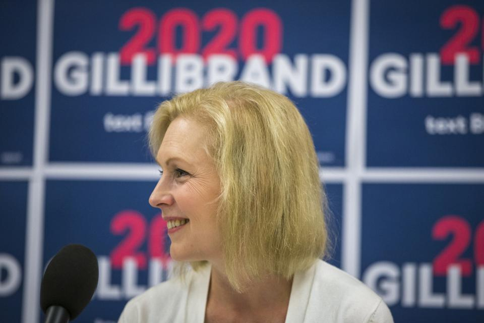 U.S. Senator And Presidential Candidate Kirsten Gillibrand In NH