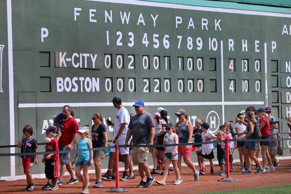 Kansas City Royals Vs. Boston Red Sox At Fenway Park