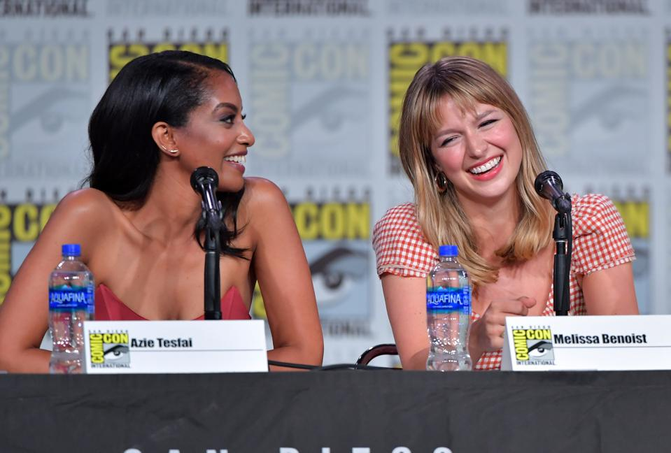 2019 Comic-Con International - ″Supergirl″ Special Video Presentation And Q&A