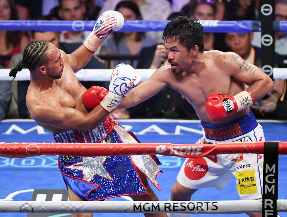 Manny Pacquiao Keith Thurman best welterweights in the world