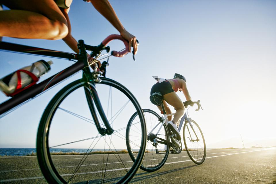 Biking can be a safe activity this summer -- if you keep your distance.