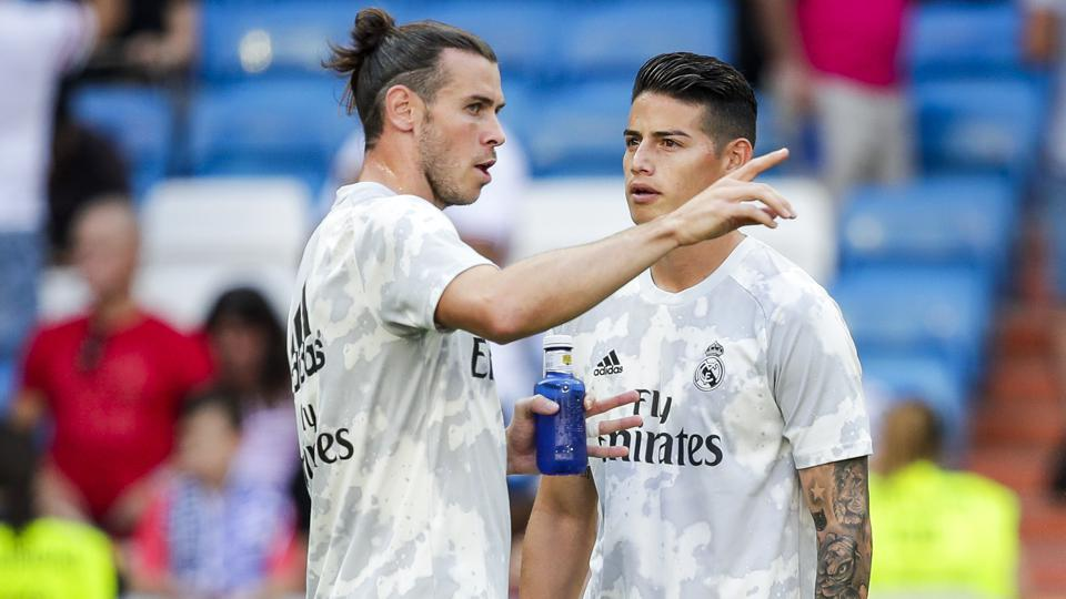 Real Madrid Willing To Sell Gareth Bale And James Rodriguez ...