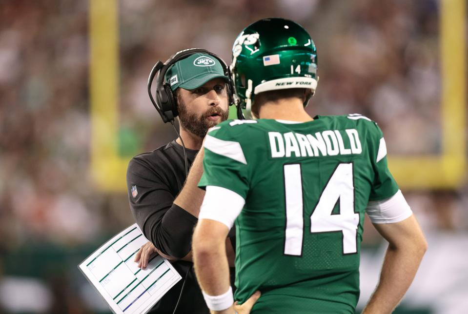 Sam Darnold Is Back, But He Will Need Better Game Plans From Jets Coach Adam  Gase