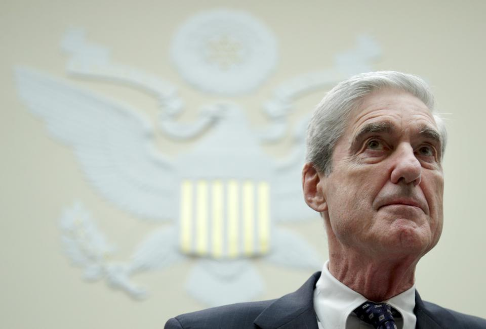Robert Mueller arrives for testimony before the House Intelligence Committee about his report on Russian interference in the 2016 presidential election July 24.