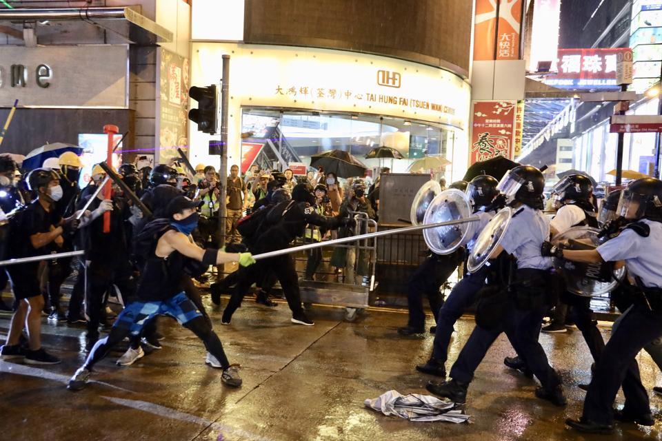 CHINA-HONG KONG-PROTEST-VIOLENCE (CN)