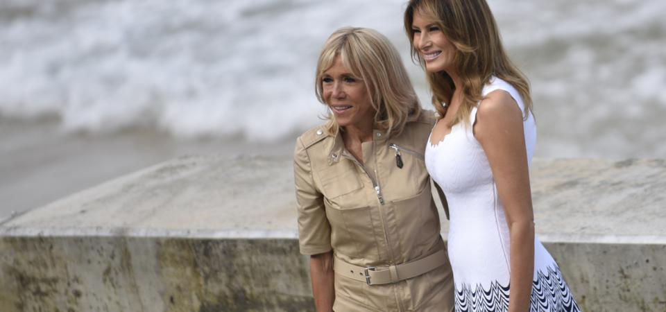 Two First Ladies at G7 Summit