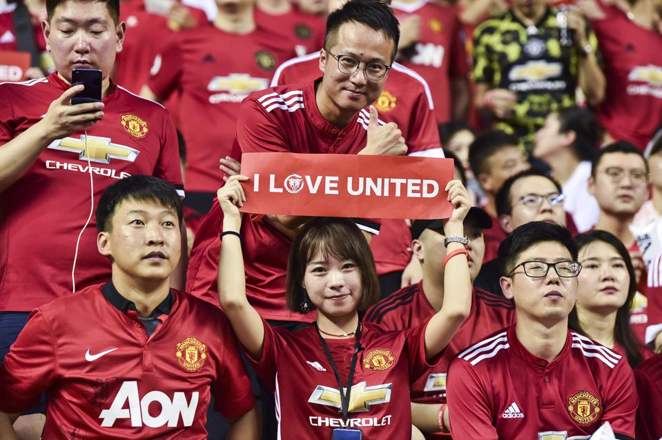 Manchester United Continue To Build On Their Dominance In China