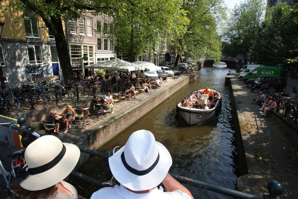 Summer Weather In Amsterdam