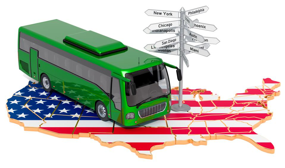 In ″Two Summers: Nixon and Trump by Greyhound,″ author Tim Albert writes about his experiences touring the USA by bus in 1969 and then in 2019.