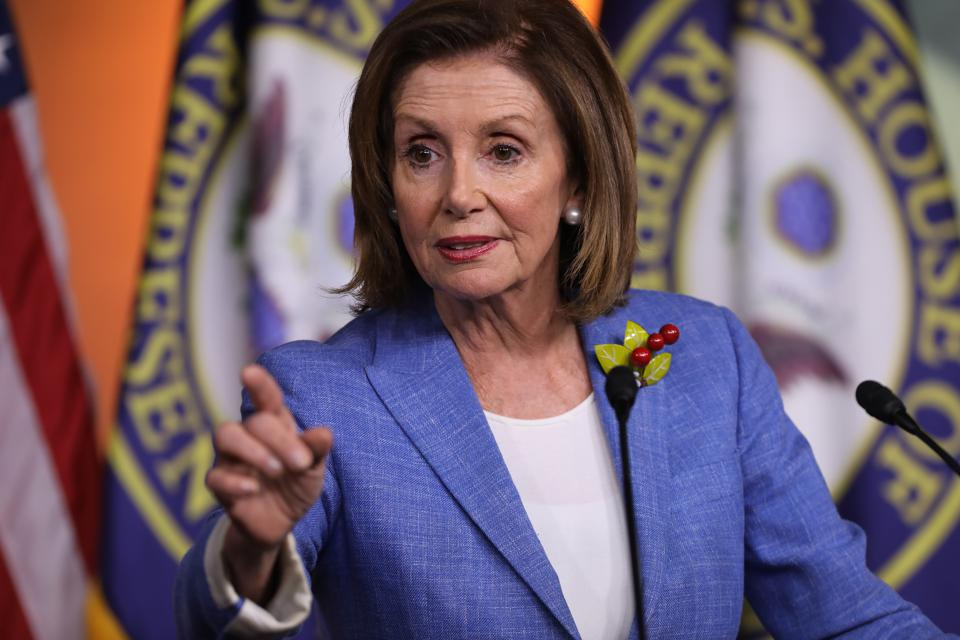 Speaker Pelosi Addresses The Media In Weekly Press Conference
