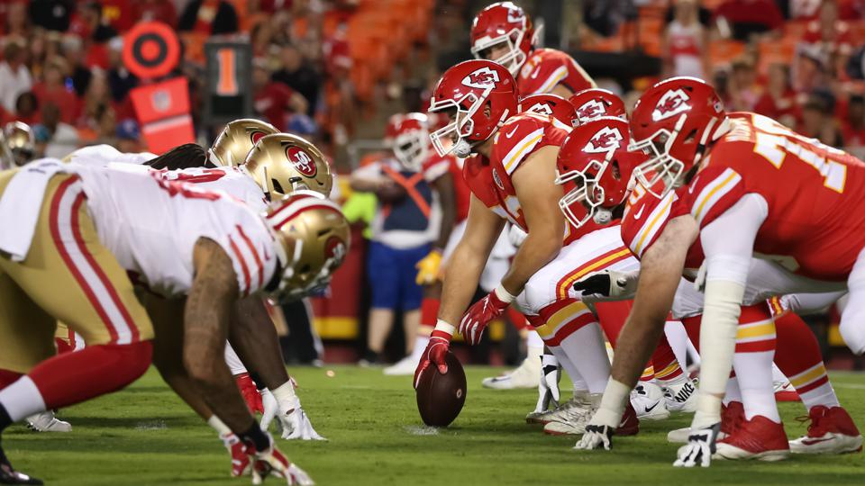 NFL: AUG 24 Preseason - 49ers at Chiefs