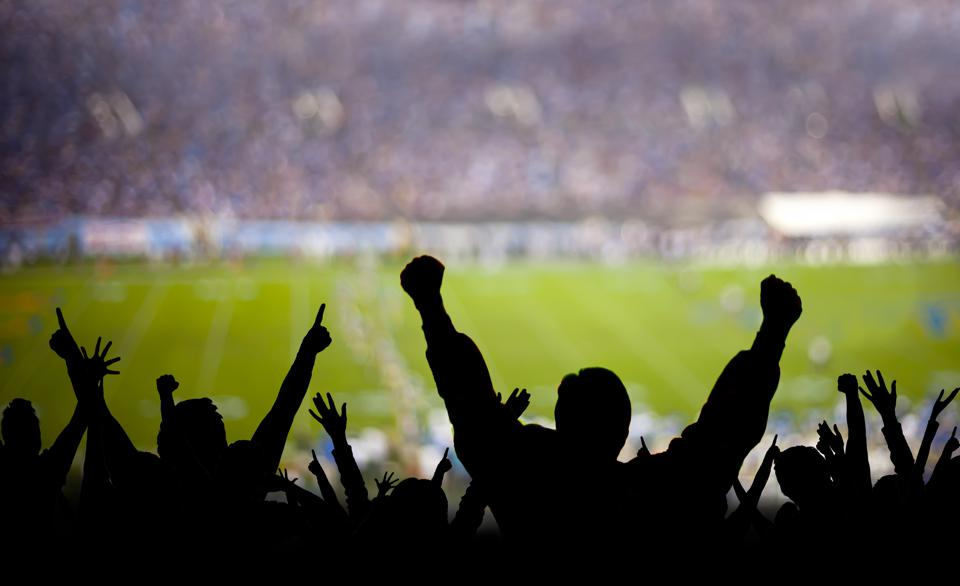 Football Fans Excited