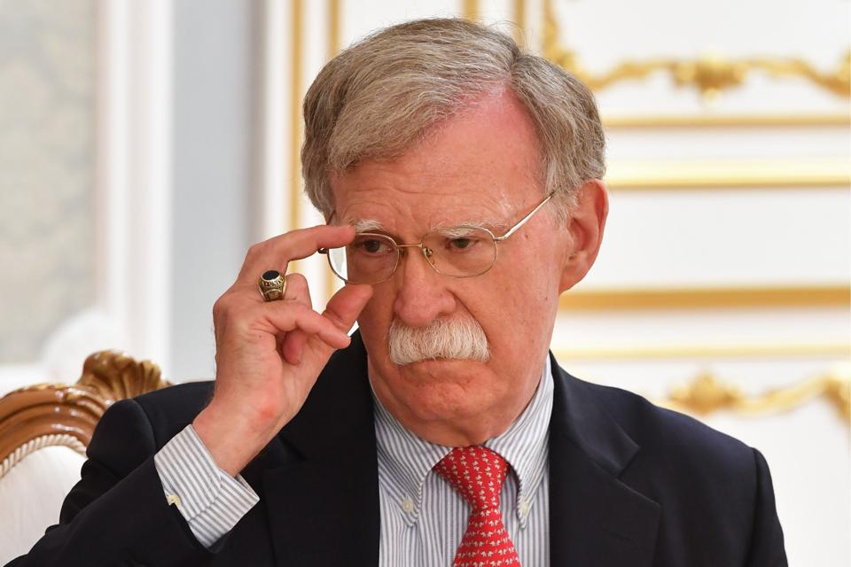 Belarusian President Lukashenko meets with US National Security Advisor Bolton