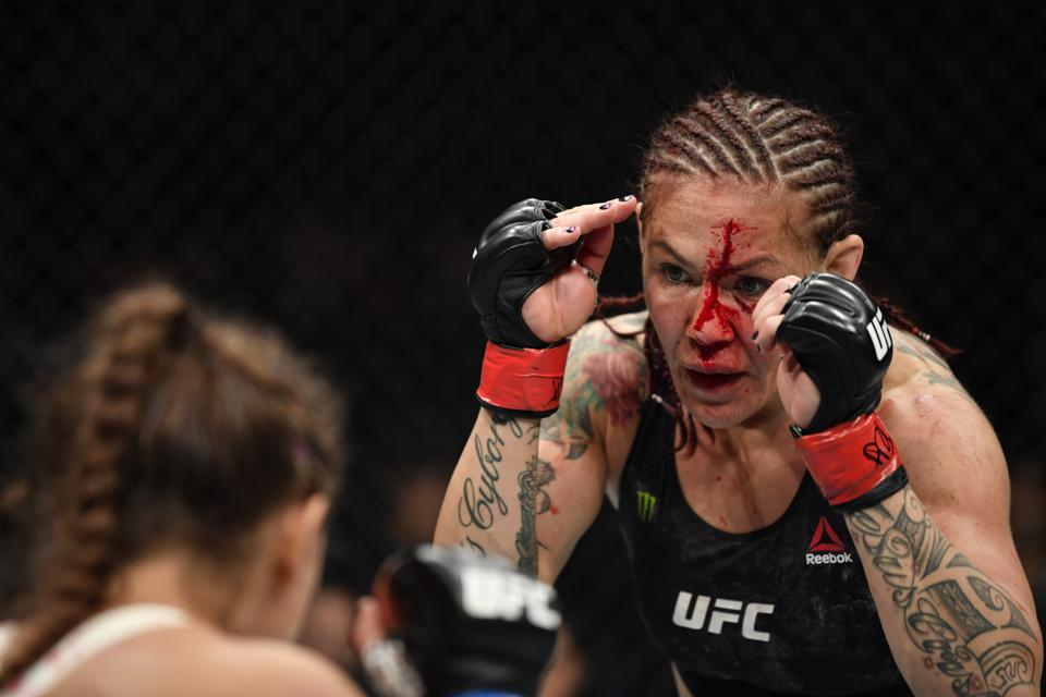 UFC 240: Stats And Video Highlights From Cris Cyborg Vs. Felicia Spencer