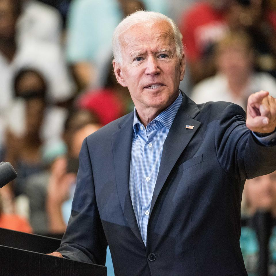 Democratic Presidential Candidate Joe Biden talks about immigration reform.