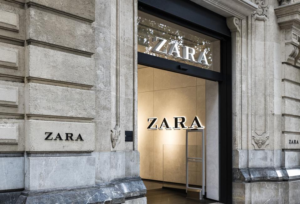 Zara department store...