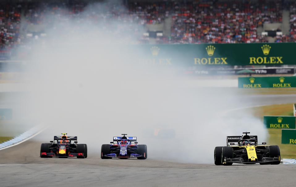 F1 has become a poster boy for pollution (Alexander Hassenstein/Getty Images)