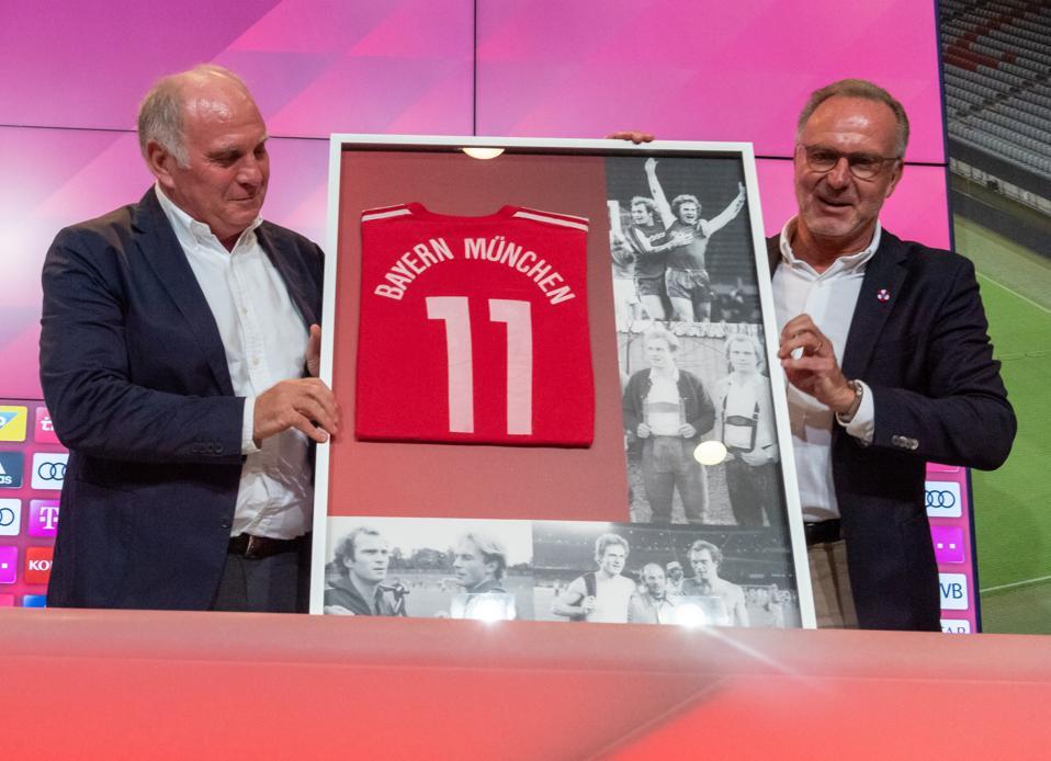 PK FC Bayern Munich with Hoeneß