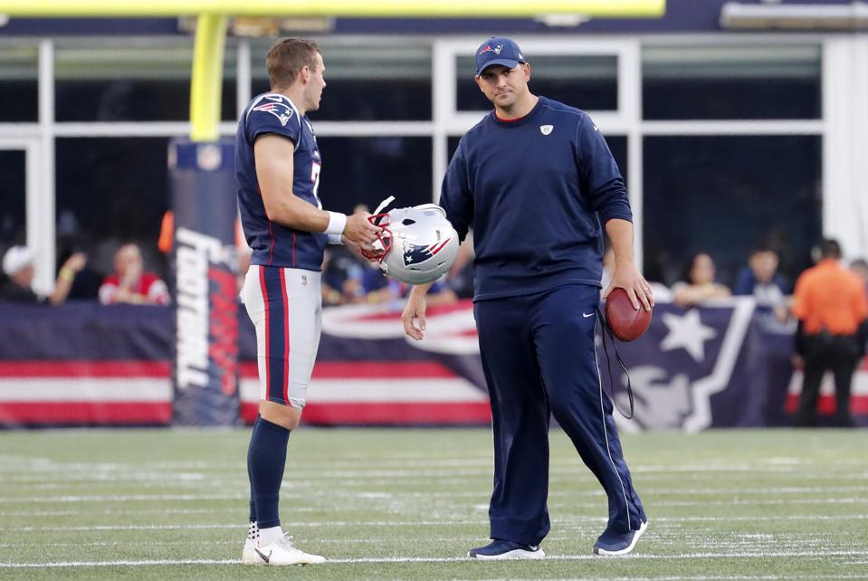 NFL: AUG 29 Preseason - Giants at Patriots