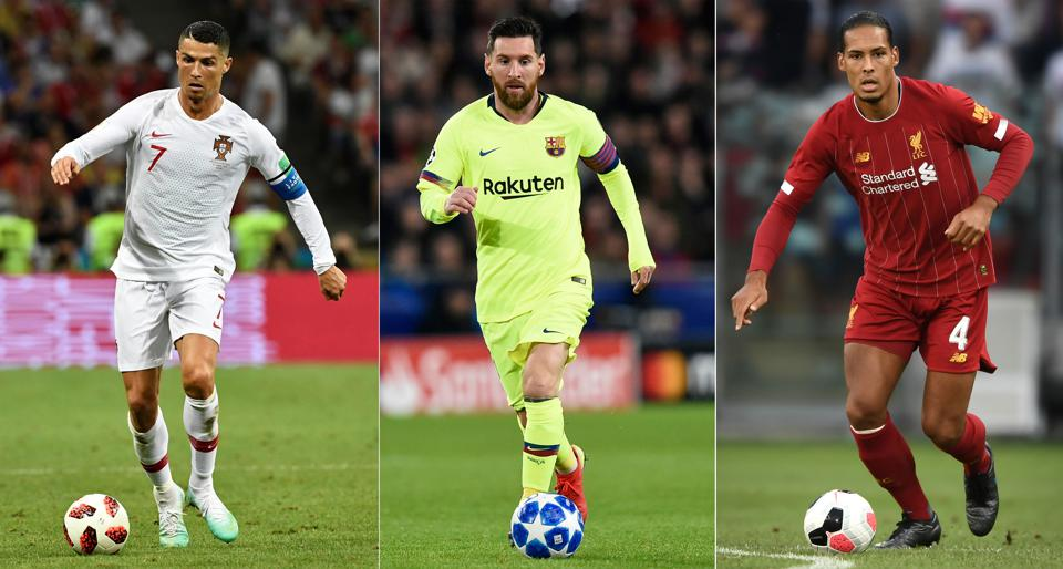 Best Soccer Players 2020.The 2019 Ballon D Or Shortlist Cristiano Ronaldo Messi