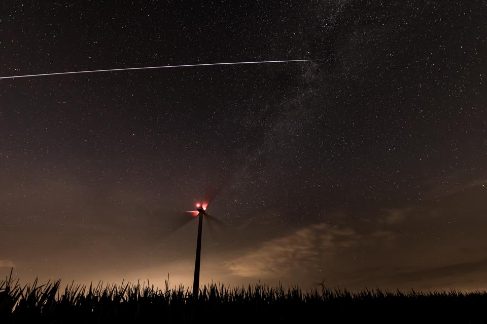 It's easy to watch the ISS crossing your home.