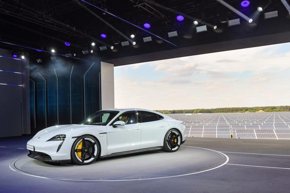 Porsche's Taycan Turbo S