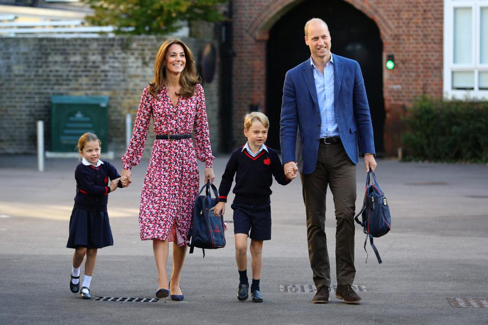 Kate Middleton, Prince William: It's Back To School Time For