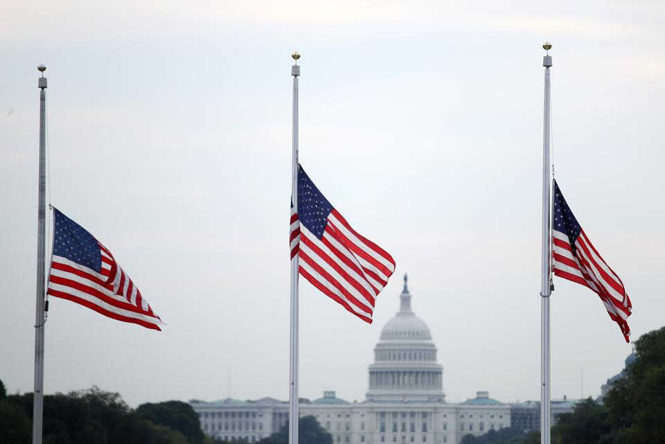 Democrats are calling for Senate majority leader Mitch McConnell to reconvene Congress to pass gun legislation.