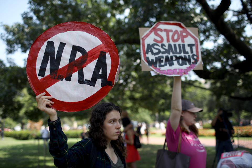 Congress hasn't enacted any firearms measures in two decades.