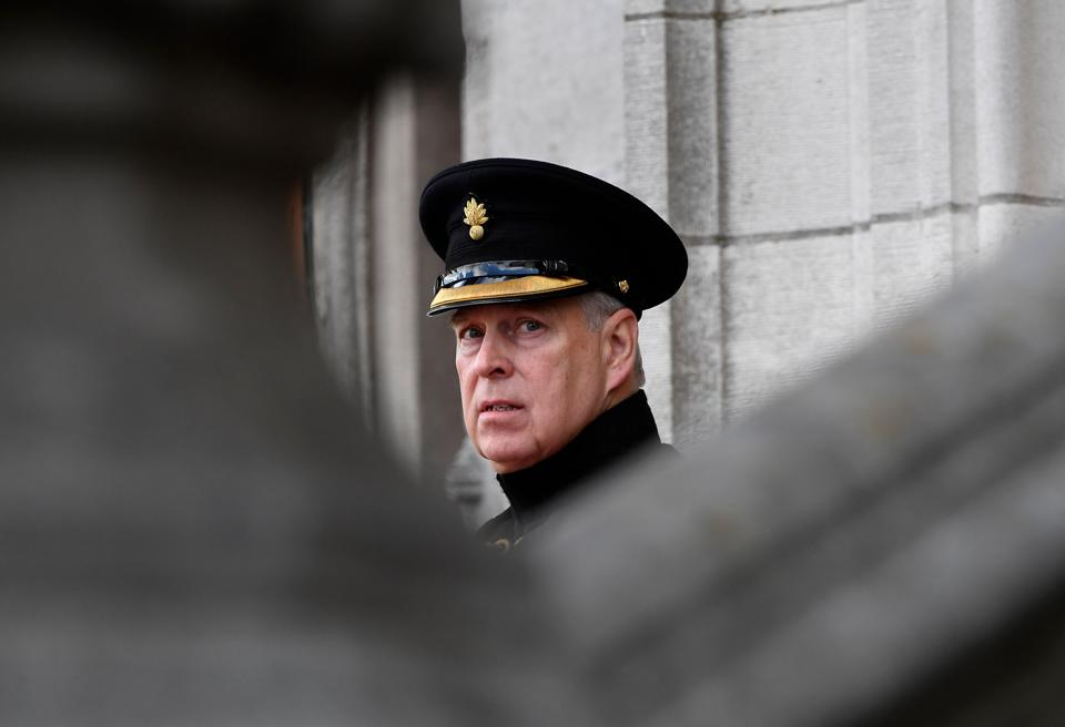 Prince Andrew if Britain