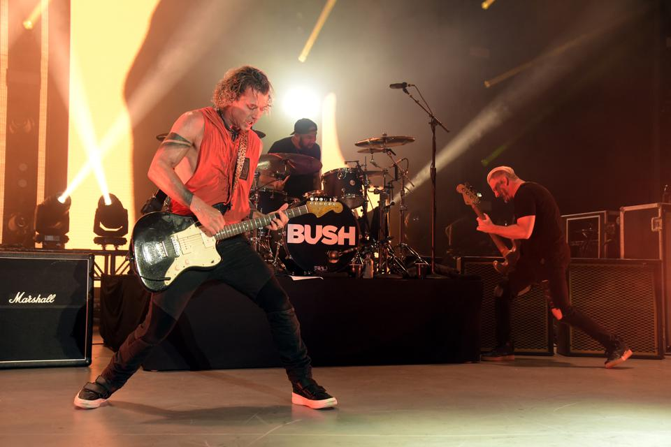 Bush + Live Performs At The Greek Theatre