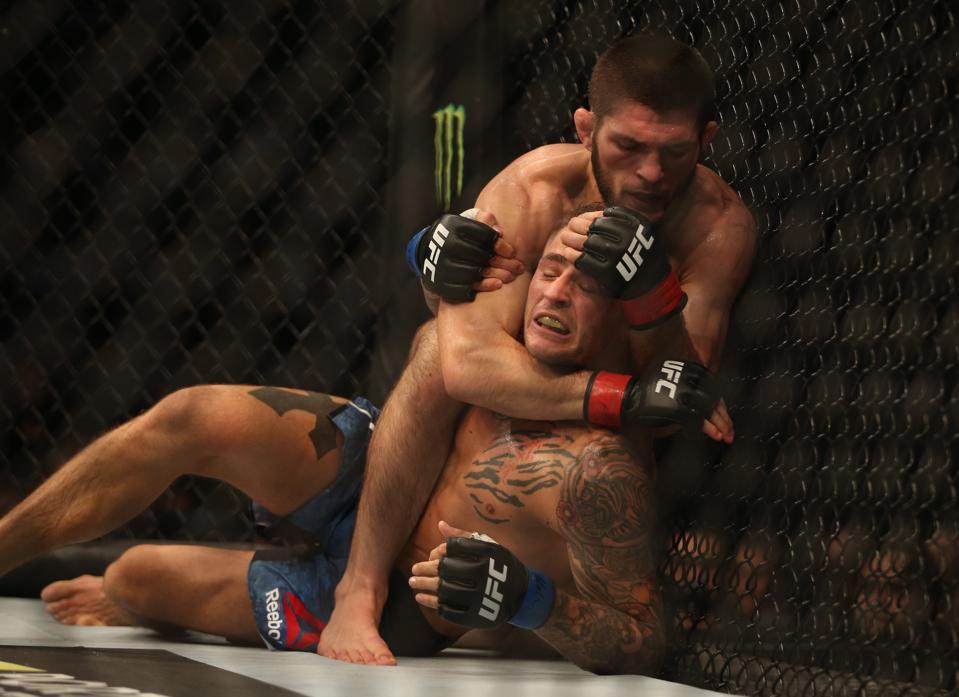 UFC 242 Results: Khabib Nurmagomedov Chokes Out Dustin Poirier, Lays Claim To P4P Title (VIDEO)
