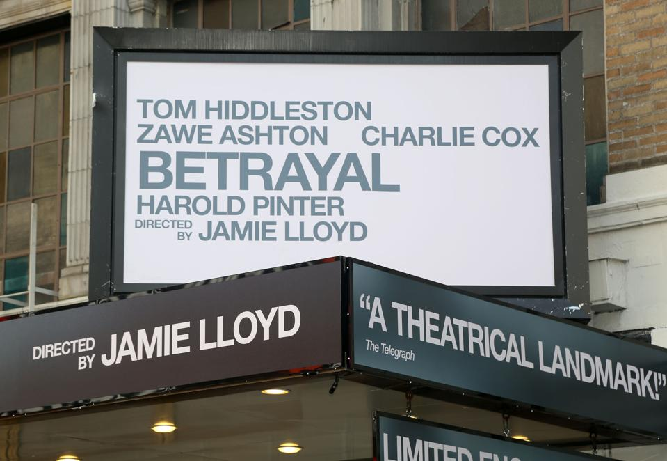 ″Betrayal″ at the Bernard B. Jacobs Theatre