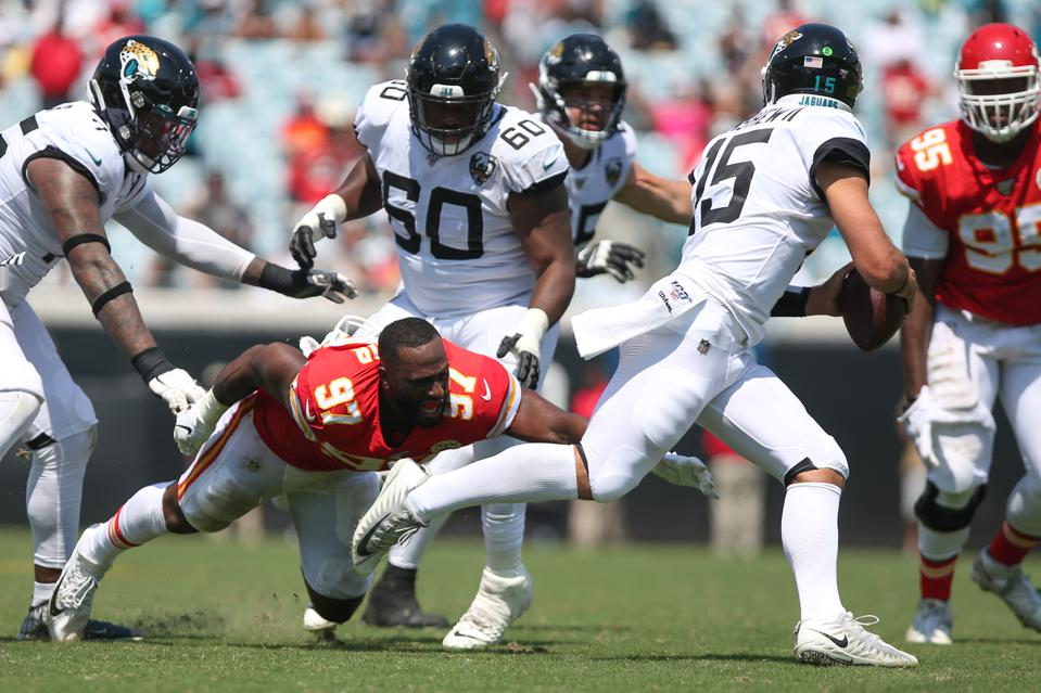 NFL: SEP 08 Chiefs at Jaguars