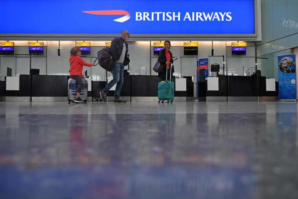 BRITAIN-AVIATION-STRIKE-BA-CANCEL