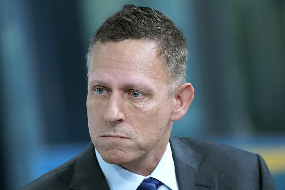 Peter Thiel Visits ″FOX & Friends″