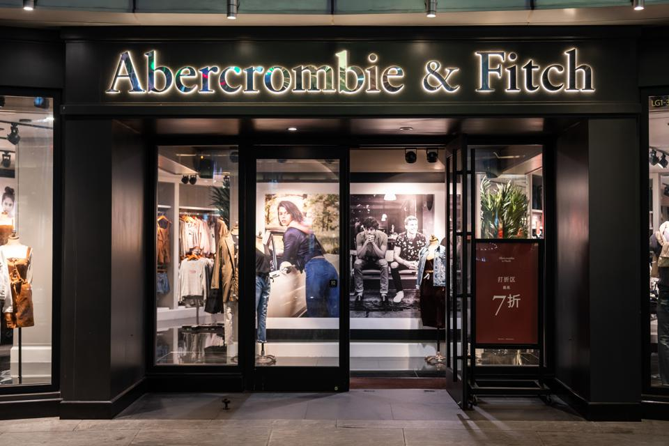 American lifestyle retailer Abercrombie & Fitch store and...