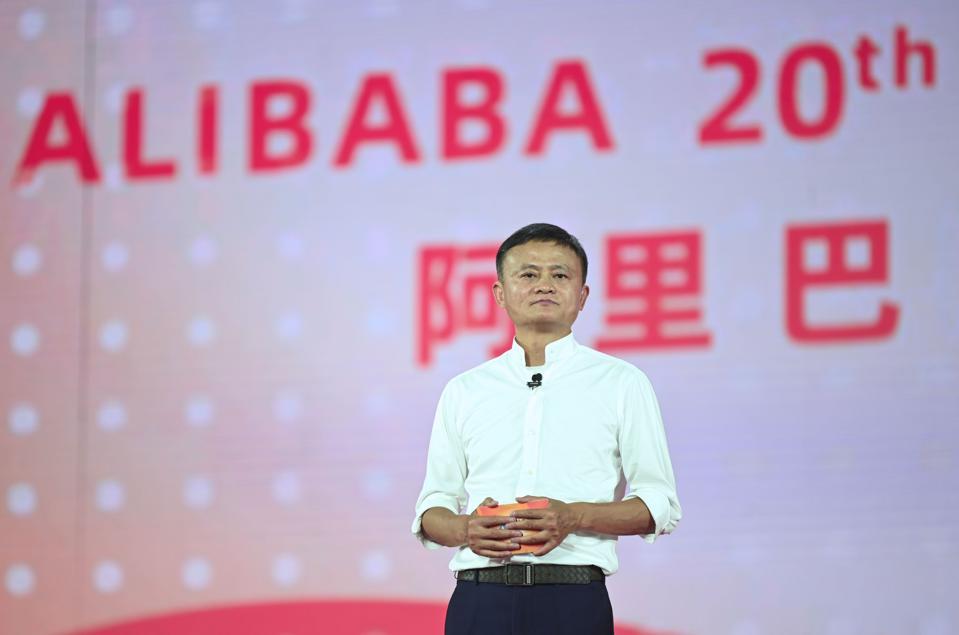 (FinancialVIew)CHINA-HANGZHOU-ALIBABA-JACK MA-RETIREMENT (CN)