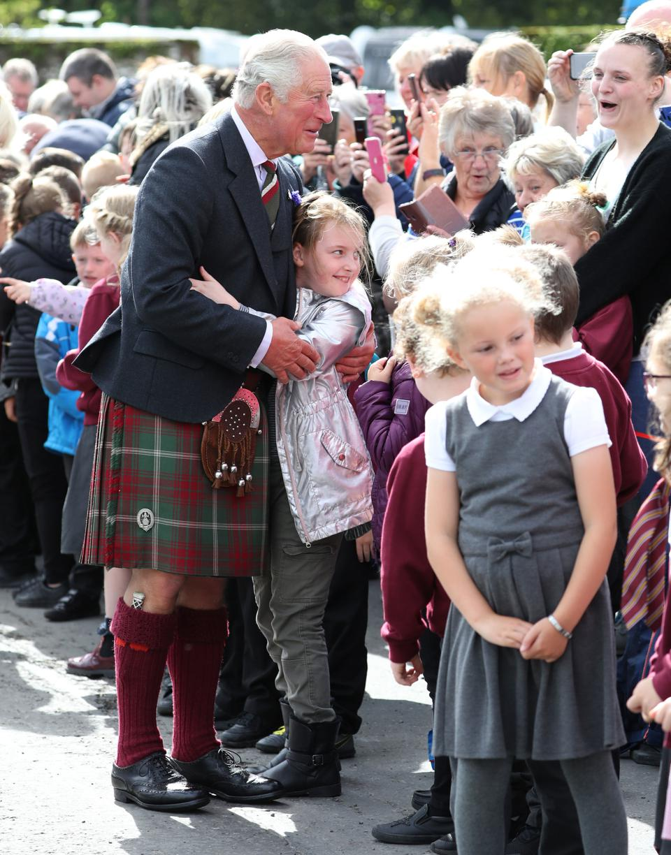 The Duke And Duchess Of Rothesay Undertake Engagements In Dumfries And Galloway
