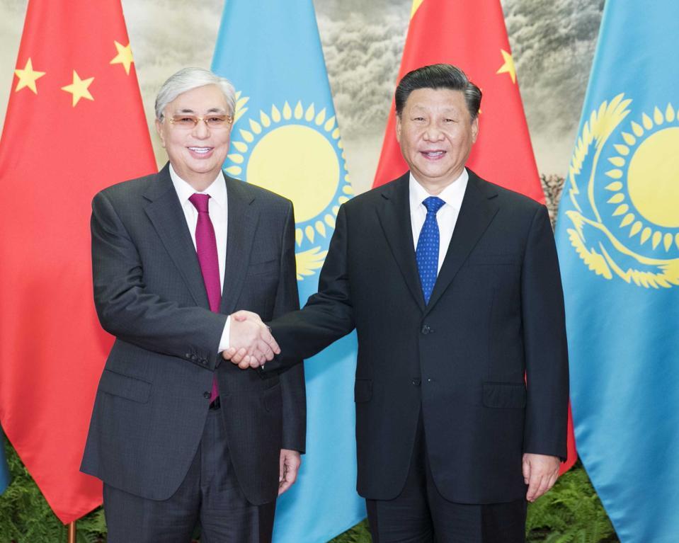 CHINA-BEIJING-XI JINPING-KAZAKH PRESIDENT-TALKS (CN)