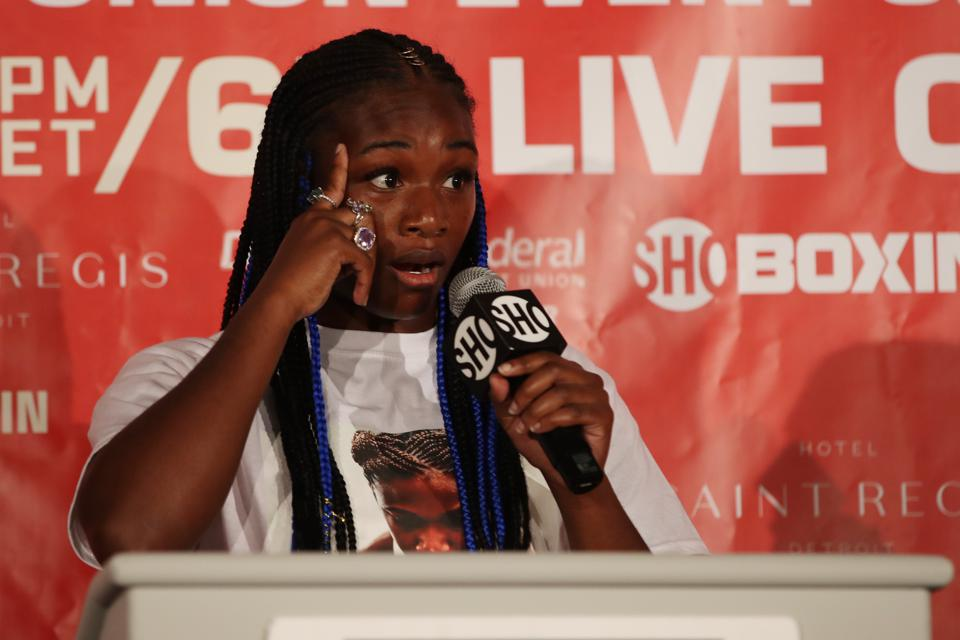 Claressa Shields Talks Training For UFC, Fighter Equality, Sparring Men, And Serena Williams