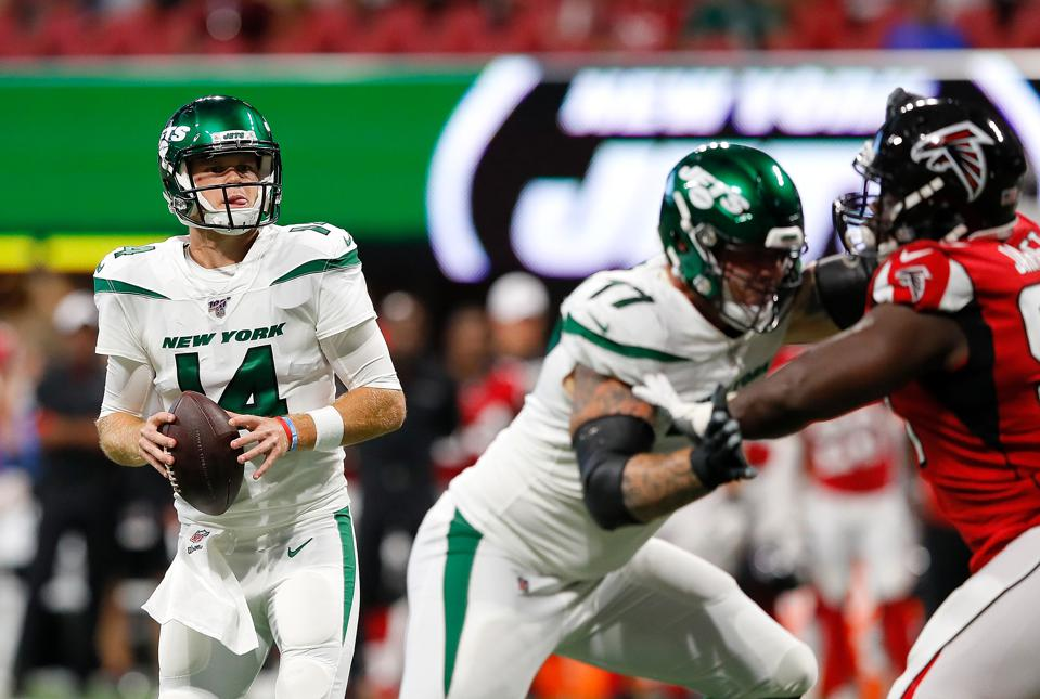 Sam Darnold Looks Good But The New York Jets Still Have