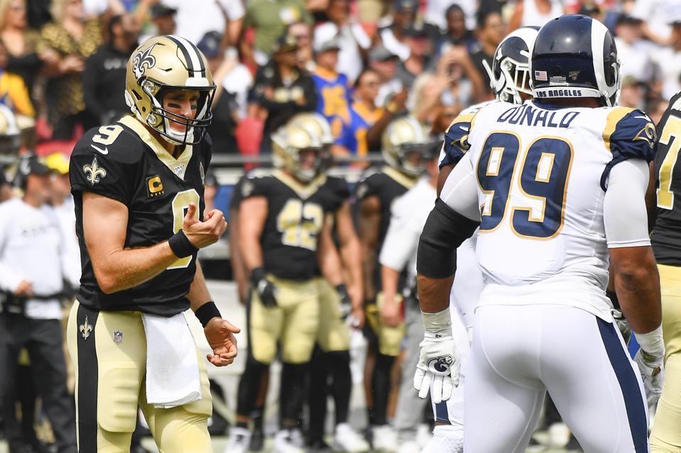 NFL: SEP 15 Saints at Rams