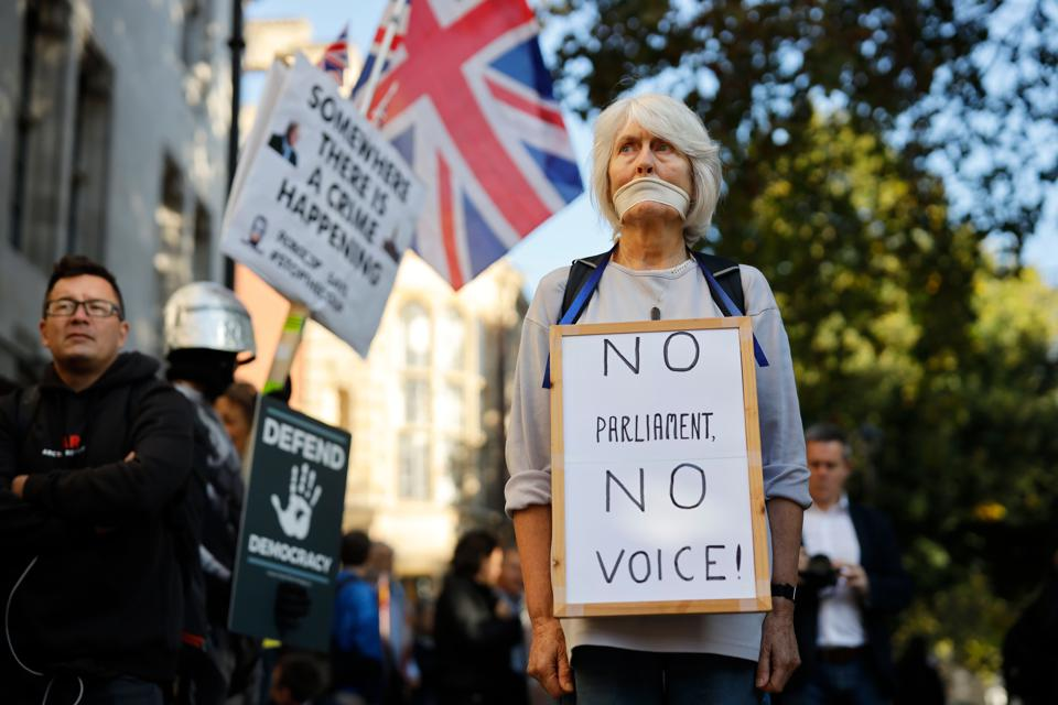 Brexit: U.K.'s Supreme Court To Decide Whether Johnson's Suspension Of Parliament Is Lawful