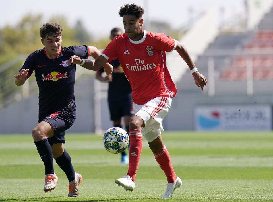 SL Benfica v RB Leipzig - UEFA Youth League - Group G